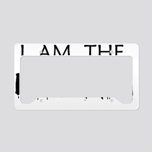 eviltwinblack License Plate Holder